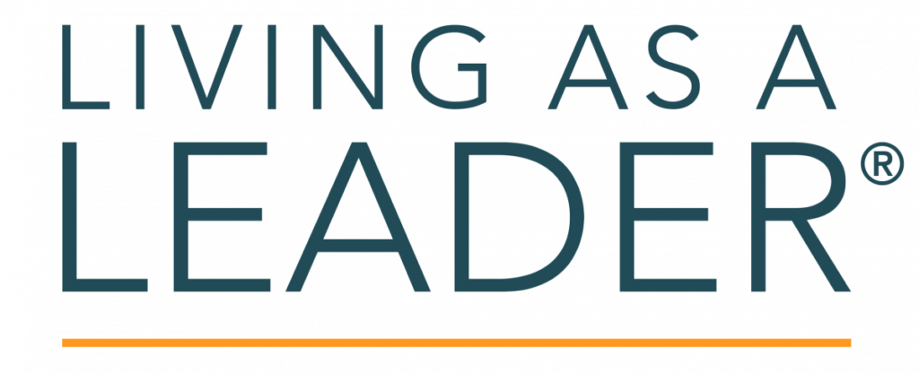 Living as a leader Logo