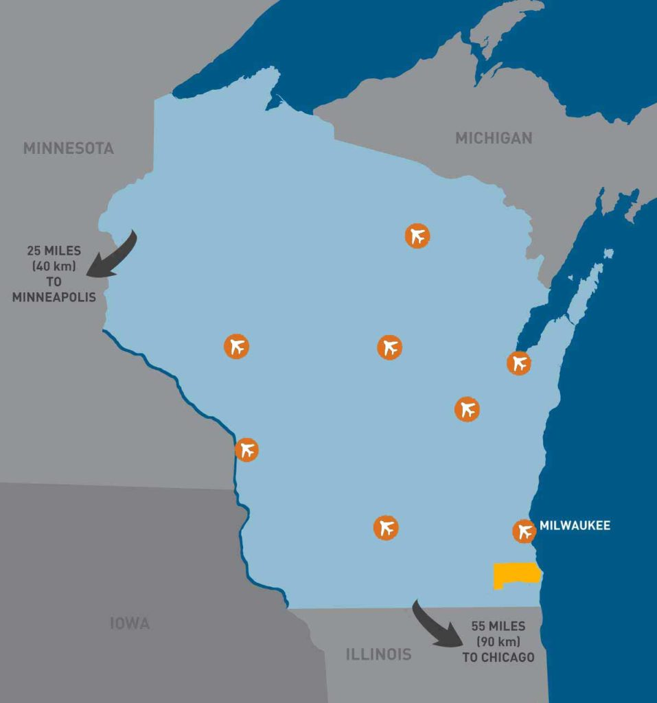 Wisconsin Airports