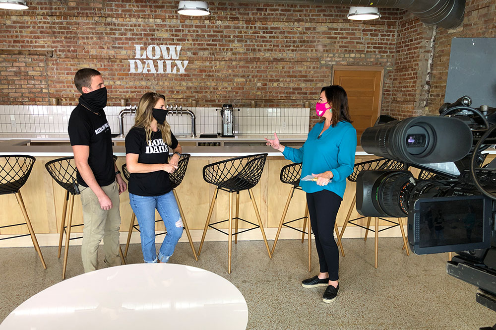 Low Daily owners with Molly Fay from The Morning Blend