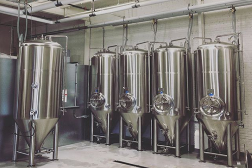 Low Daily beer tanks