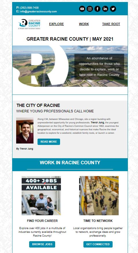greater racine county newsletter may 2021