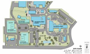 2220 horlick site plan