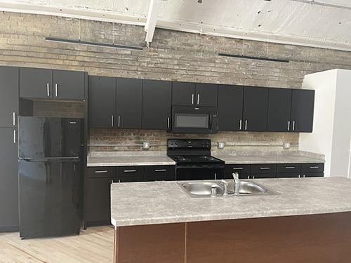 The Araballa apartments kitchen