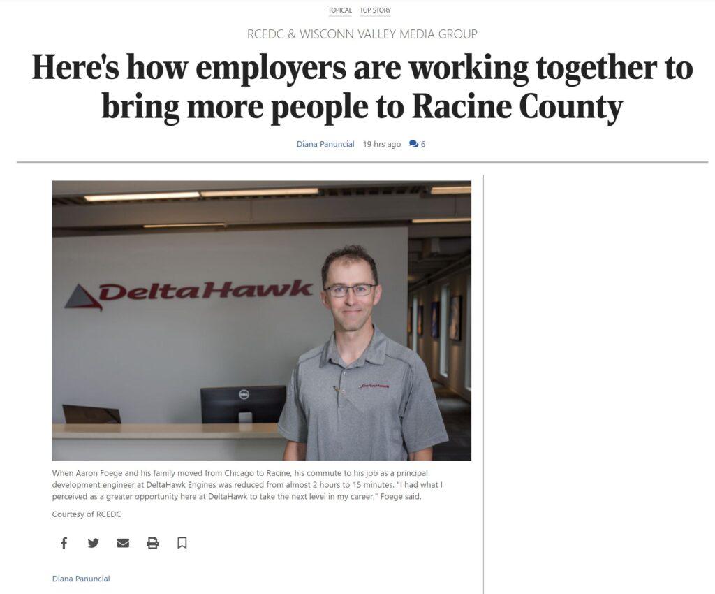 bring more people to racine county racine journal times