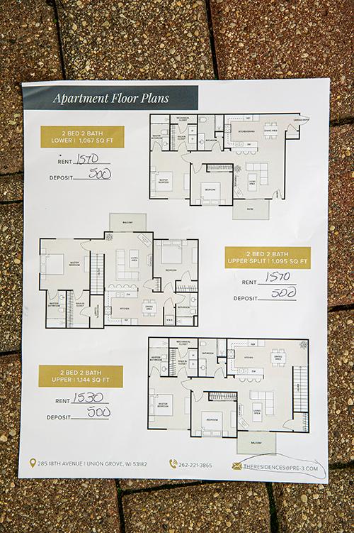 residences at dunham grove floor plan